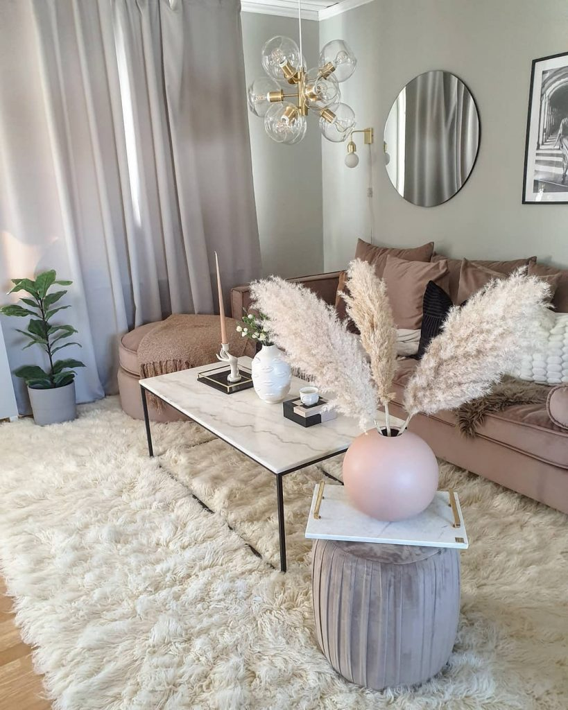 FLokati Rug Transforms the room